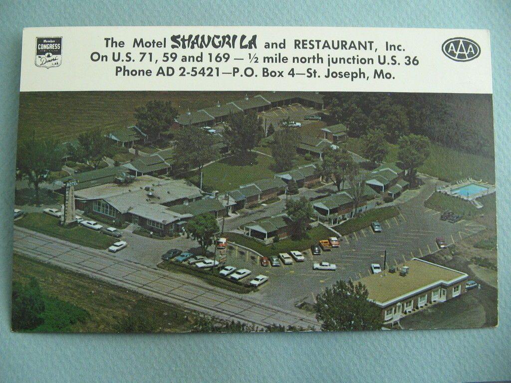 Motel Shangri La & Restaurant St Joseph Mo