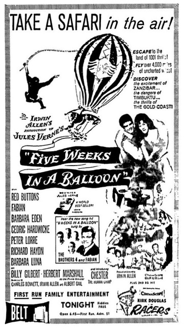 Movie ad from Aug 26,1962