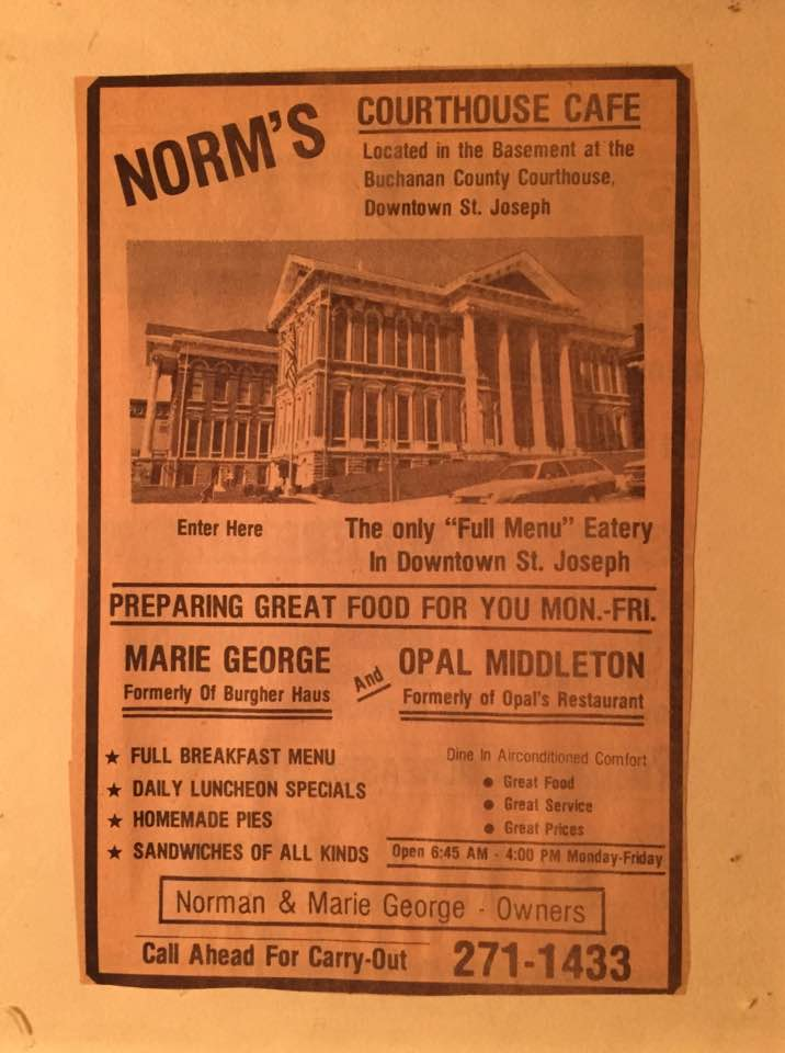 Normans Courthouse Cafe