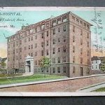 Noyes Hospital. 24th & Frederick Ave. 1914