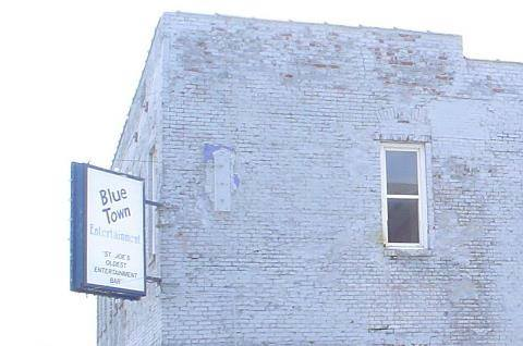 Once the location Of Blue Town Tavern on S. 10th
