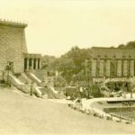 Passion Play set at Krug Park 1928