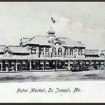 Patee Market, St. Joseph, Mo. 1914 postcard