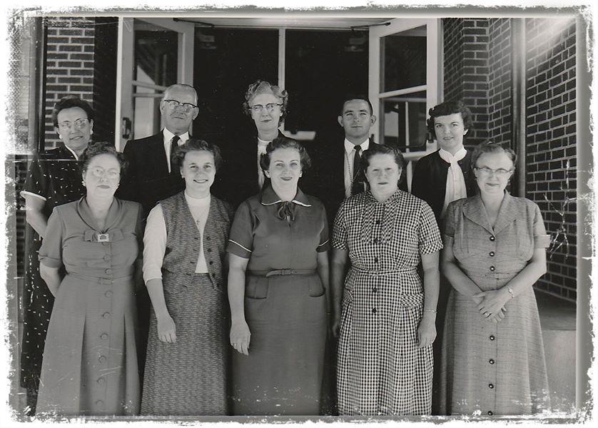 Picket School circa 1960