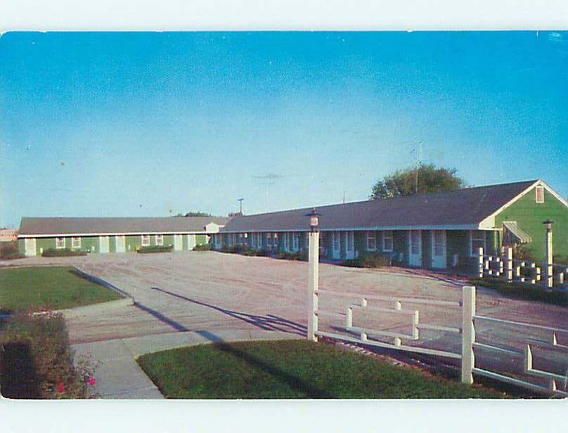 Pre-1980 SHAMROCK MOTEL St. Saint Joseph Missouri MO