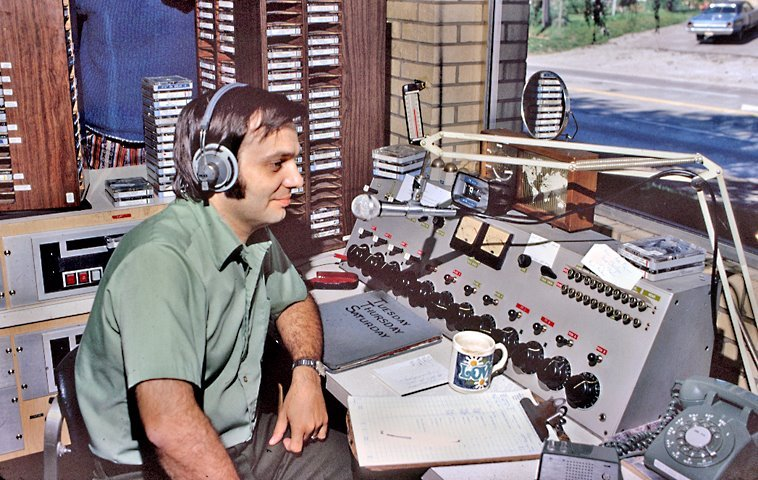 Radio Disc Jockey Greg Everett