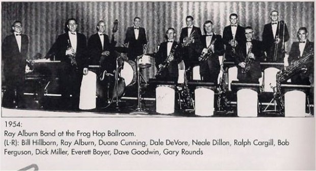 Ray Auburn Big Band At the Frog Hop ballroom
