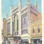 ST JOSEPH MISSOURI THE MISSOURI THEATRE LINEN 1937 POSTCARD