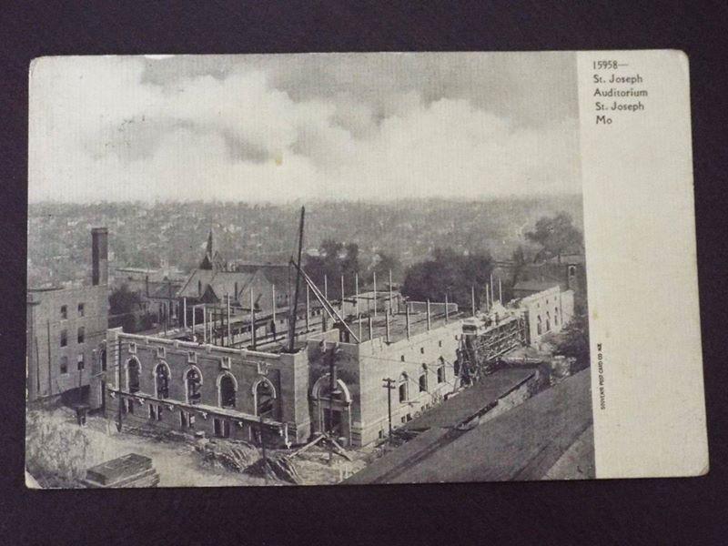 ST. JOSEPH AUDITORIUM CONSTRUCTION