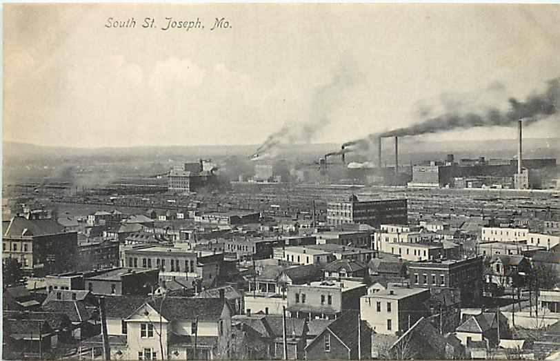 Saint Joseph, Missouri, City Scene South.