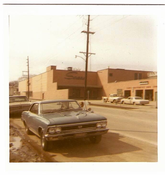 Sears Auto Repair. 1971