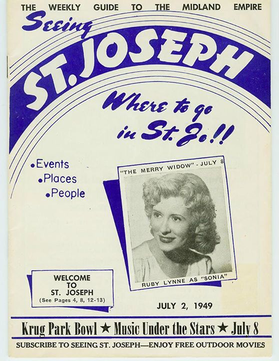 Seeing St. Joe in 1949