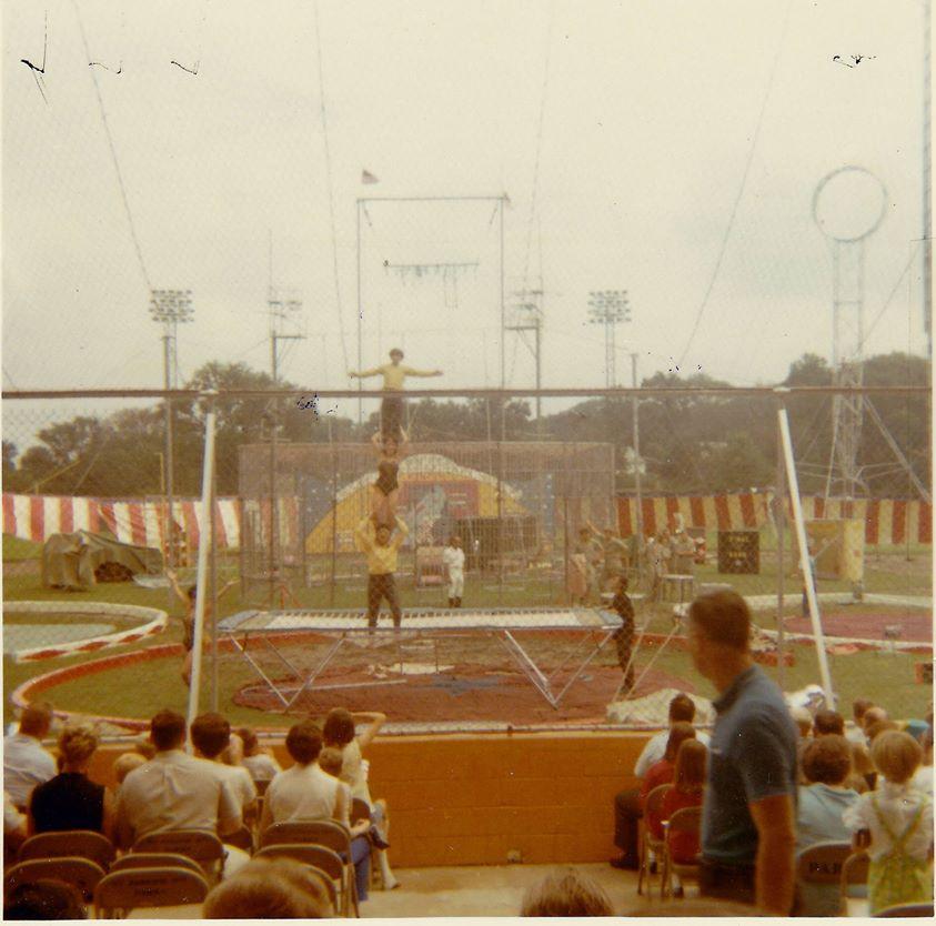 Shrine Circus Phil Welch Stadium 1968