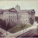 St Joseph Missouri Buchanan County Court House posted 1909
