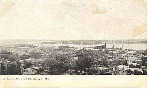 St. Joseph MO Birdseye