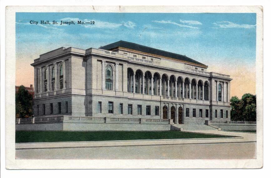 St. Joseph, MO – City Hall 1928