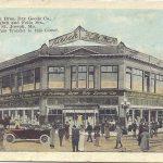 St.Joseph MO-Hirsch Bros Dry Goods Store Street Car Corner…1923