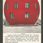The Big Red Apple Advertising Postcard, Hunt Bros, St. Joseph, MO, Wathena, KS