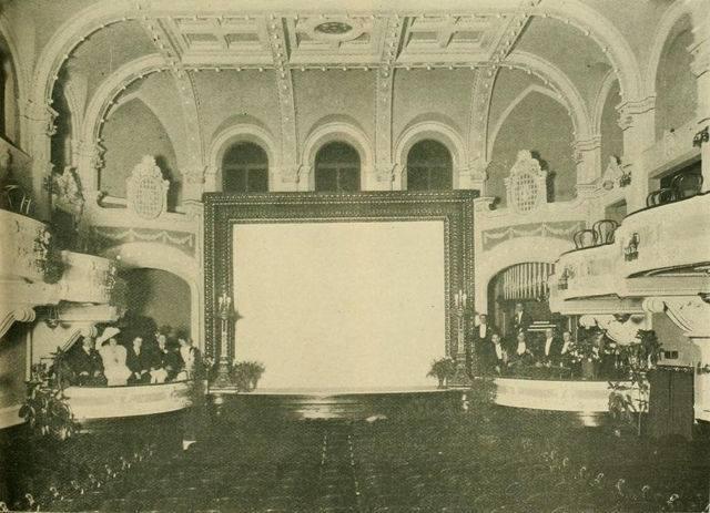The grand old Orpheum Theatre in St. Joseph