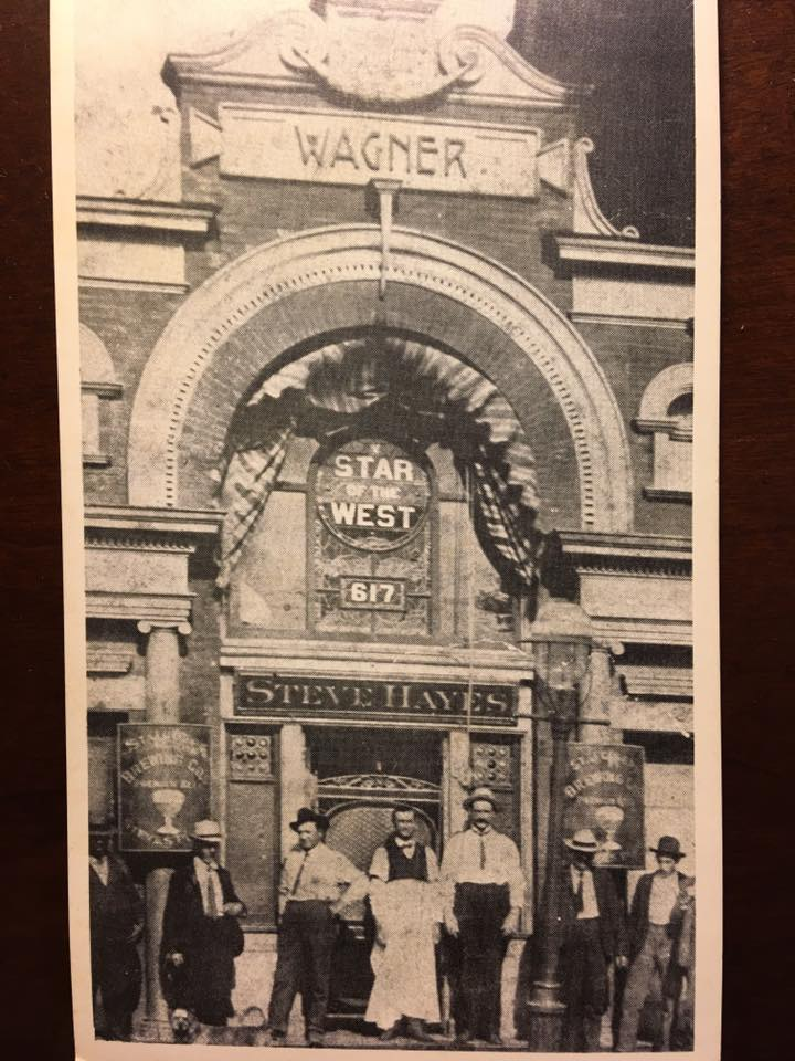 Wagner Saloon, 617 S. 8th St. Erected in 1877