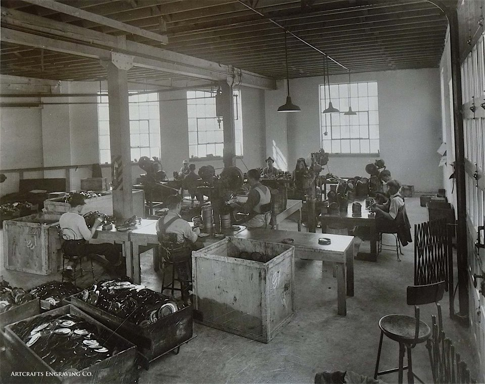 Walker Manufacturing Corp. at 18th and Penn, c. 1938