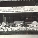 Walker Manufacturing display in Kirkpatrick's Jewelry display window c. 1938