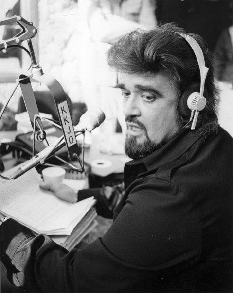 Wolfman Jack, the king of DJs, visiting KKJO in 1976 3