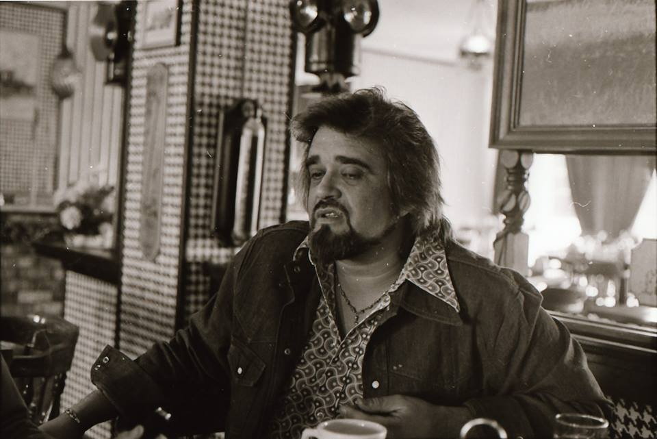 Wolfman Jack, the king of DJs, visiting KKJO in 1976