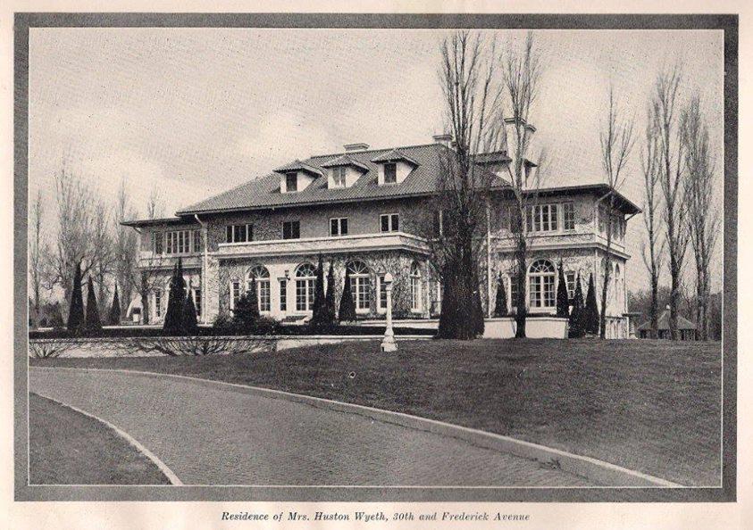 Wyeth Mansion 1927