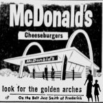 first McDonald Restaurant to come to St Joseph