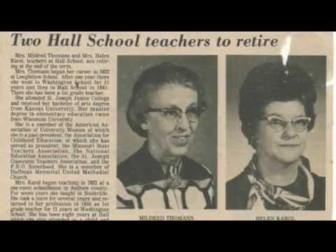 Hall Elementary School Tribute video – St. Joseph, Mo.