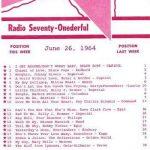 WHB Top 40 Hits 1964