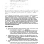Beau Musser Letter to State Auditor –  allegations of financial mismanagement