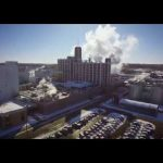 LifeLine Foods / Ex Quaker Oats Building Drone footage