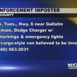 Daviess County Sheriff investigating police impersonator