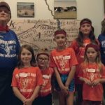 6th Generation relatives of Pony Express Station Master showed up for Day Camp