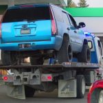 Driver who crashed at gas station after firing shots at motel dies of self-inflicted gunshot wound